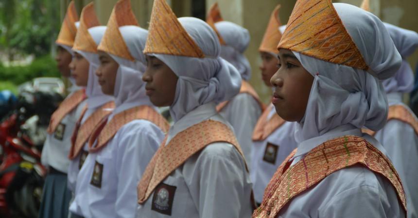 Pleton Putri SMK PGRI 1 Tangerang.